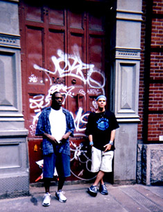 J-Zone & Pete Rock bij Greene Street Studio in NYC