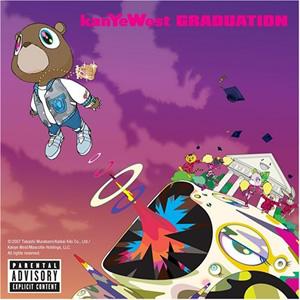 Kanye's nieuwe schijf.