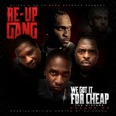 Re-Up Gang - We Got It For Cheap Vol.3: The Spirit Of Competition (We Just Think We Better)